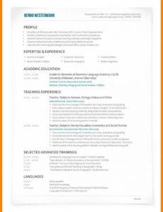 15+ Cv Englisch Vorlage  Zohnmuldoon Pages Vorlage Lebenslauf Englisch