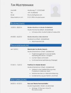 Eine Probe von  16+ English Cv Muster  Mylop Pages Vorlage Lebenslauf Englisch