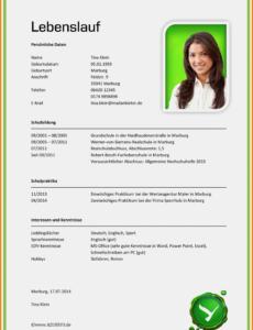 Eine Probe von  Bewerbung Ferienjob Schuler Bewerbung Für Ferienjob Schüler Vorlage Muster Lebenslauf Ferienjob Schüler
