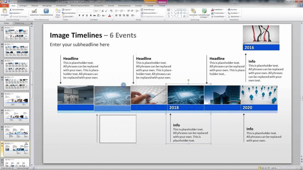 Eine Probe von  Powerpoint Zeitstrahl Vorlage  Youtube Vorlage Lebenslauf Zeitstrahl