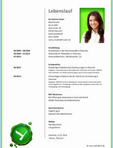 Porbe von 19+ Lebenslauf Edv Kenntnisse Muster  Jrobinberry Vorlage Lebenslauf Pc Kenntnisse