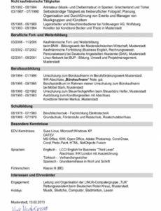 Porbe von  Erfreulich Lebenslauf Muster Rechtsanwalt Handschriftlicher Lebenslauf Vorlage Rechtsanwalt