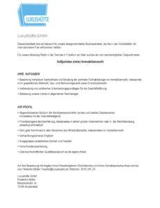 Porbe von  Muster: Bewerbungsvorlage Für Anwälte Und Justisten Lebenslauf Vorlage Rechtsanwalt