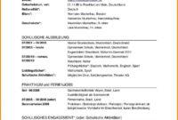von Lebenslauf Referendariat Bewerbung Referendariat  Bewerbungsschreiben Muster Tabellarischer Lebenslauf Referendariat