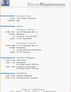 von Primaer Lebenslauf Diplom Ingenieur Muster  Lebenslauf Muster & Tipps Vorlage Lebenslauf Elektroingenieur
