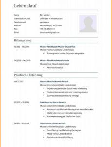 11+ Lebenslauf Bewerbung Ausbildung  Five And Tenpress Lebenslauf Muster Abgeschlossene Ausbildung