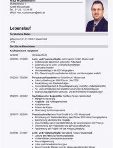 19+ Lebenslauf Bundeswehr  Soleatablao Muster Lebenslauf Tabellarisch Bundeswehr
