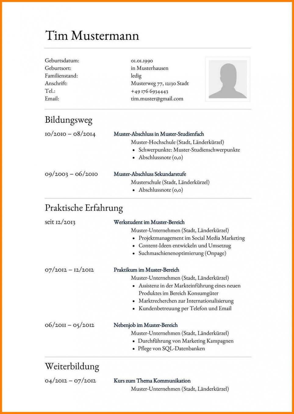 21+ Lebenslauf Lehrer Muster  Freyajacklin Vorlage Tabellarischer Lebenslauf Lehrer