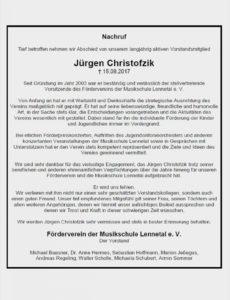 Beileid Aussprechen Beispiele Neu Nachruf Jürgen Christofzik Vorlage Lebenslauf Nachruf