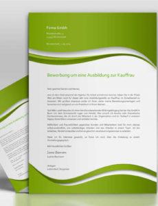 Bewerbungsvorlage  Topdesign24, Musterbewerbung 2014 Vorlage Lebenslauf Grün