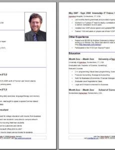 Eine Probe von  13+ Curriculum Vitae Vorlage Deutsch  Richmondcajuneteenth Lebenslauf Vorlage Curriculum Vitae