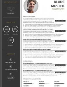 Eine Probe von  44 Lebenslauf Muster & Vorlagen Für Bewerbung 2015 Inspirierend Vorlage Lebenslauf Grafik