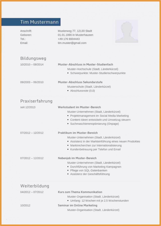 Eine Probe von  Bewerbungs Lebenslauf Vorlage Schön Lebenslauf Vorlage Assistent Neu Vorlage Lebenslauf Assistentin Der Geschäftsführung