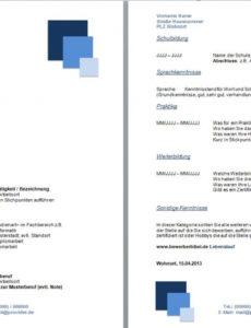 Eine Probe von  Lebenslauf Ausland Cv, Resume Erstellen Lernen Beispiele Vorlage Lebenslauf Niederlande