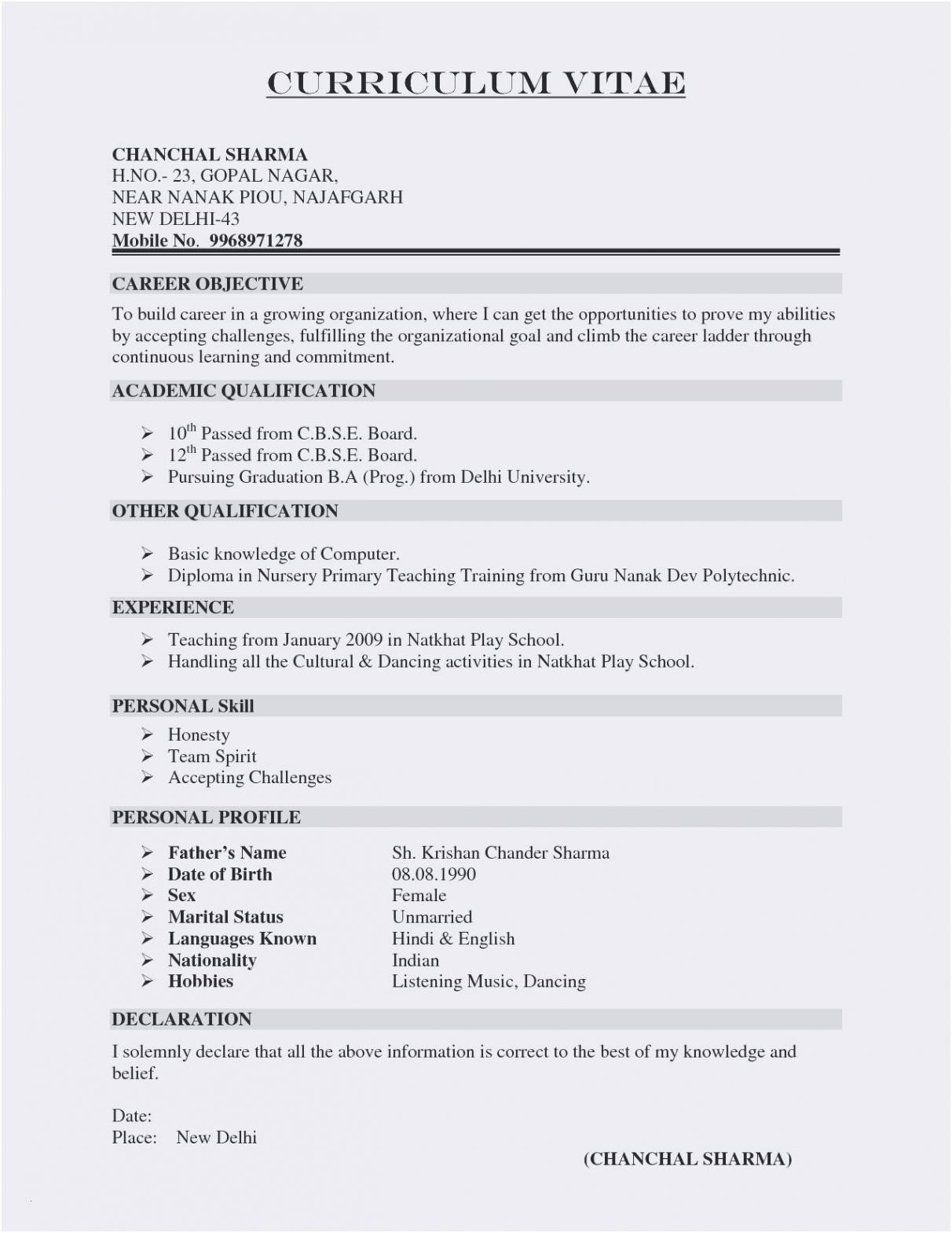 Eine Probe von  Lebenslauf Englisch Vorlage Einzigartig Lebenslauf Kopieren Vorlage Lebenslauf Kopieren