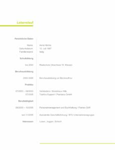 Eine Probe von  Original Bewerbungsschreiben Ausbildung Erzieherin  Wiring Library Lebenslauf Muster Ausbildung Erzieherin