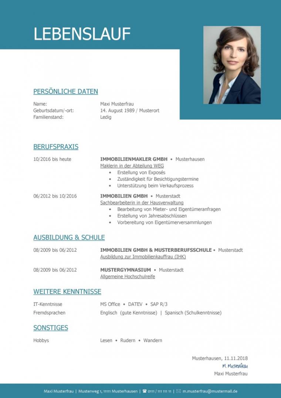Vorlage Lebenslauf Business   Casagenotta