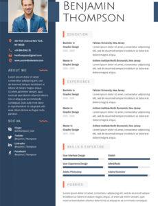 Lebenslaufvorlage 64872 Für Grafiken Vorlage Lebenslauf Grafik