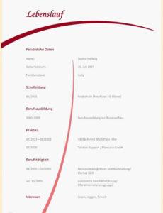 Neu Lebenslauf Vorlage, Ausfüllen Für Schüler Lebenslauf Vorlage Lebenslauf Schüler Zum Ausfüllen