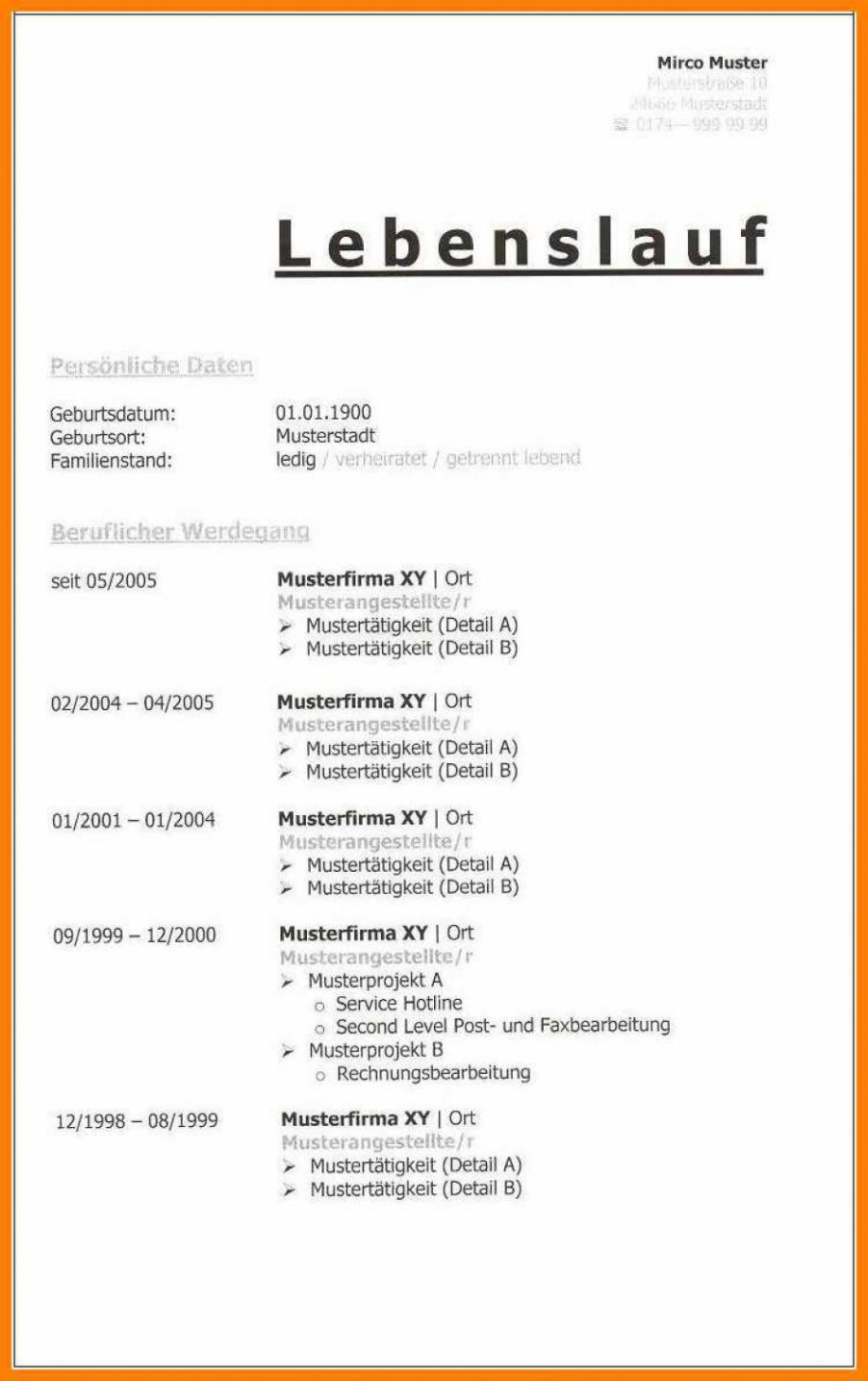 Original Lebenslauf Muster Bundeswehr 14+ Bundeswehr Lebenslauf Muster Lebenslauf Tabellarisch Bundeswehr