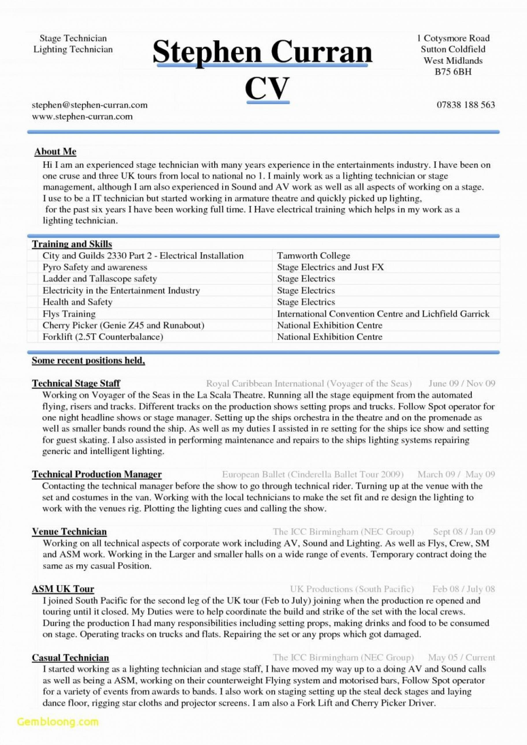 Porbe von  007 Download Resume Template Word Lebenslauf Vorlage Ebenbild Gratis Vorlage Lebenslauf Executive