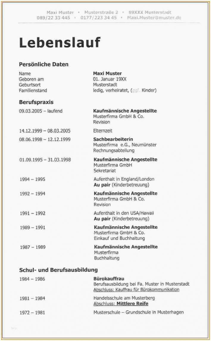 Porbe von  15+ Lebenslauf Vorlage Elternzeit  Centervilleflorida Vorlage Lebenslauf Elternzeit