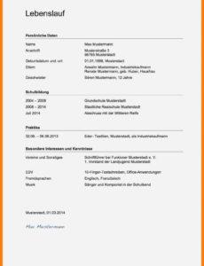 Porbe von  19+ Din 5008 Vorlage Bewerbung  Secret Life Symposium Vorlage Lebenslauf Din 5008