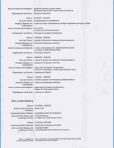 Porbe von  21+ Lebenslauf Lehrer Muster  Freyajacklin Lebenslauf Vorlage Unterricht