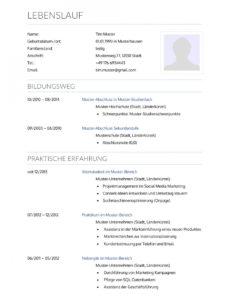 Porbe von  Bewerbungsmuster Krankenpfleger  Lebenslauf Designs Vorlage Lebenslauf Krankenschwester