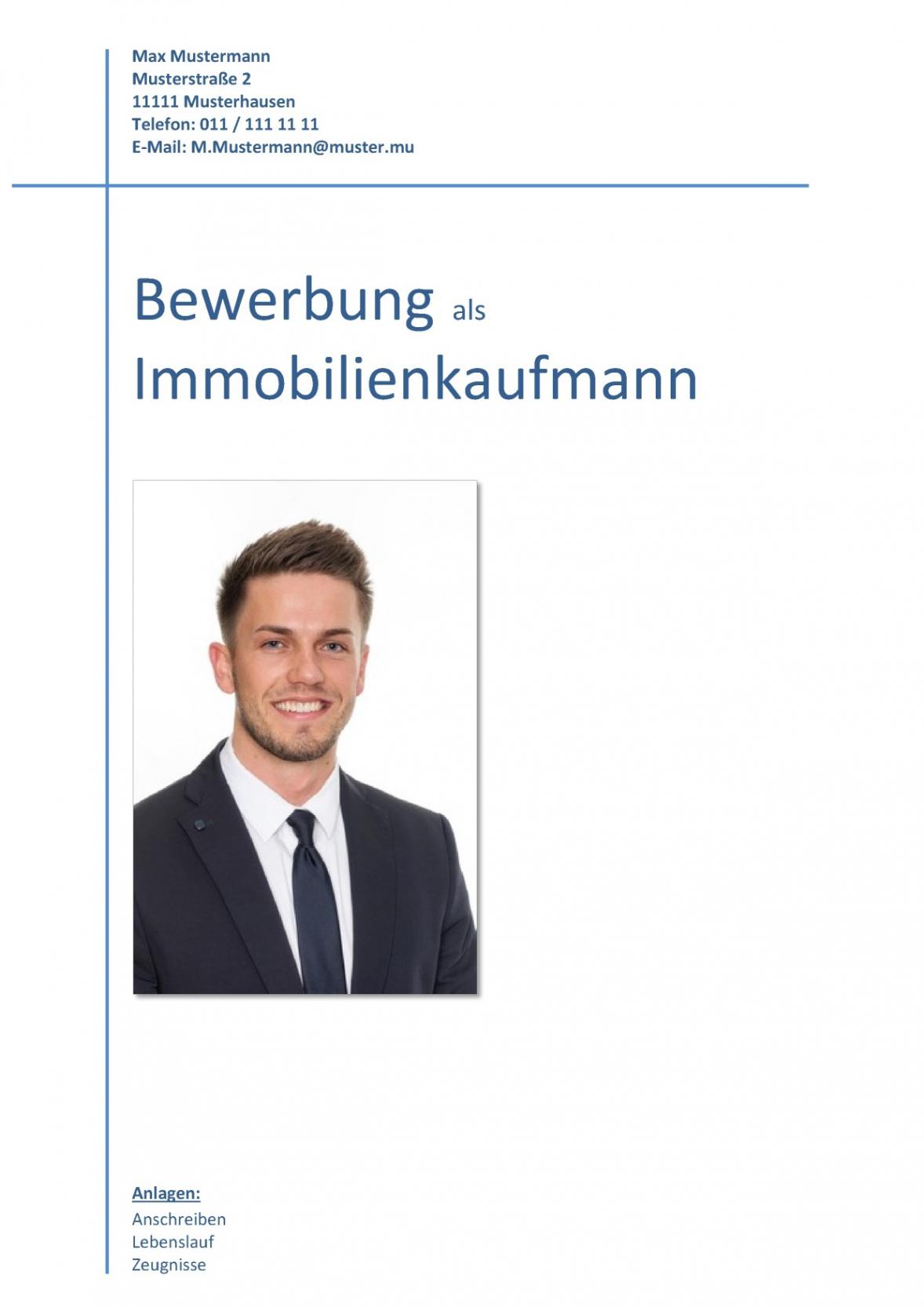 Porbe von  Deckblatt In Der Bewerbung  Über 100 Kostenlose Muster & Vorlagen! Vorlage Lebenslauf Titelblatt