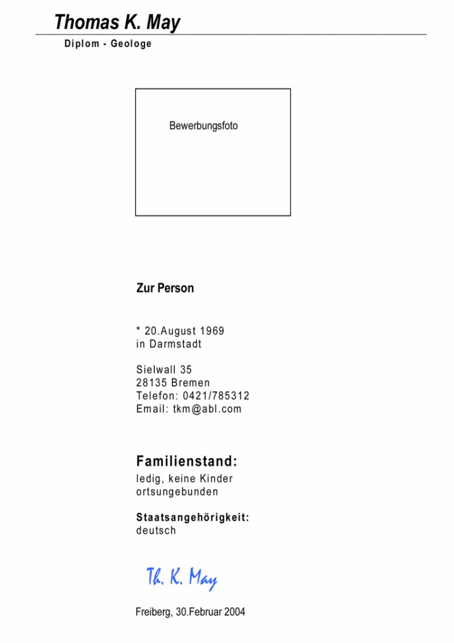 Porbe von  Extraordinay Lebenslauf In Dissertation Latex Latex Lebenslauf Vorlage Lebenslauf Dissertation