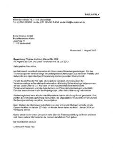 Porbe von  Friseur Bewerbung Vorlage Bewerbungsanschreiben Als Friseurin Lebenslauf Vorlage Coiffeur