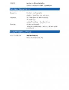 Porbe von  Lebenslauf Muster Für Journalist  Lebenslauf Designs Lebenslauf Vorlage Journalismus