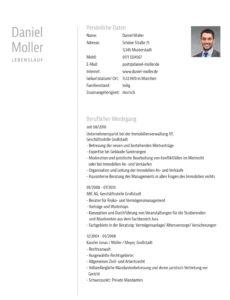 Porbe von  Muster: Bewerbungsvorlage Für Anwälte Und Justisten Vorlage Lebenslauf Jurist