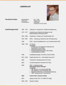 Porbe von  Tabellarischer Lebenslauf Berufserfahrung 2 17+ Lebenslauf Vorlage Tabellarischer Lebenslauf Referendariat