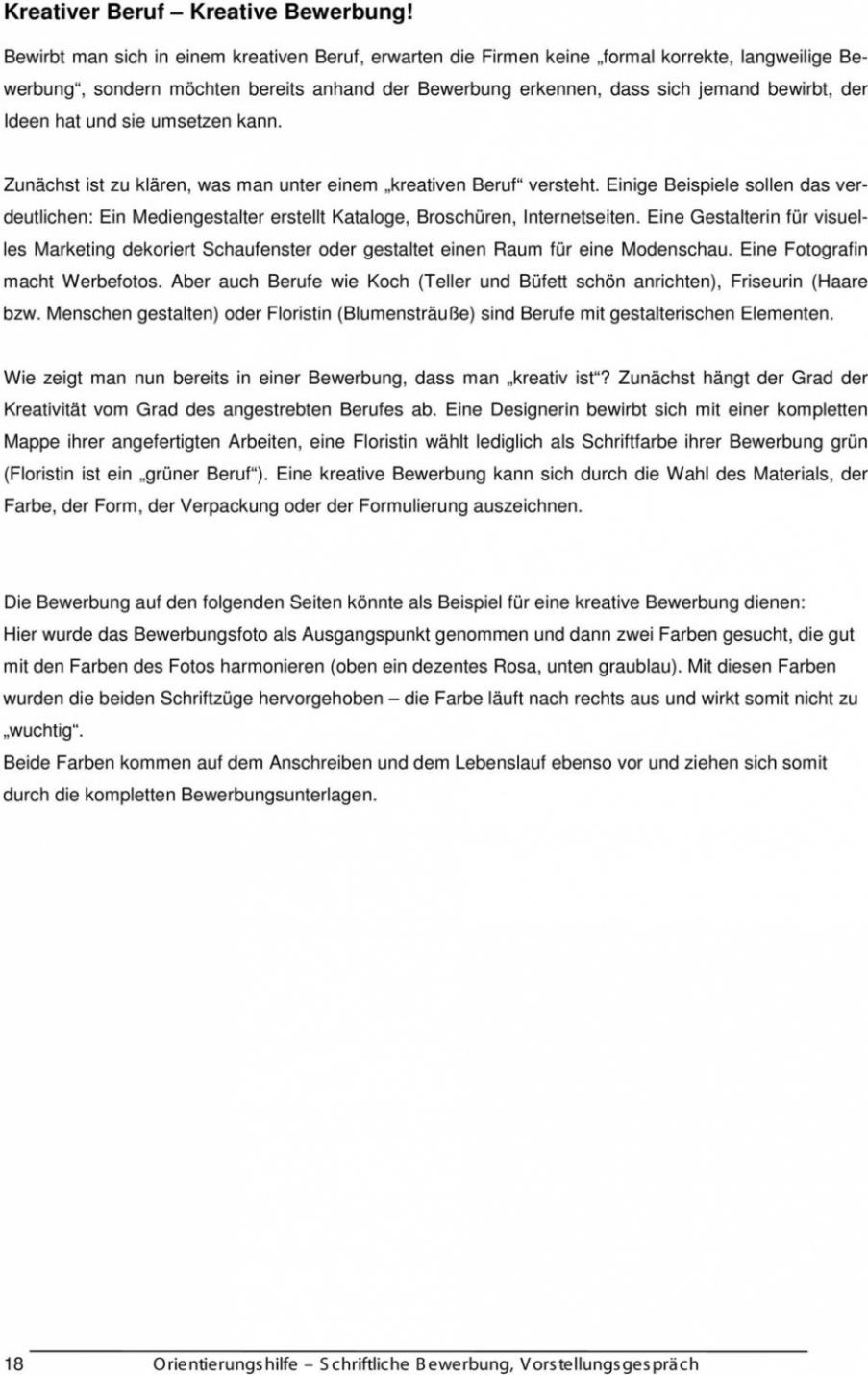 Trend Bewerbungsanschreiben Muster Gestalter Visuelles Marketing Lebenslauf Vorlage Schweiz Berufsberatung