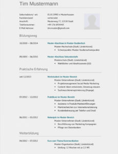 Wertvoll Lebenslauf Muster Word 2016 Download 46 Schön Lebenslauf Vorlage Lebenslauf Niederlande