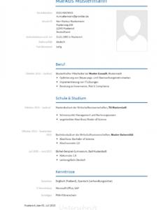 Bewerbungsvorlagen Als Consultant  Bewerbung2Go Lebenslauf Vorlage Consulting