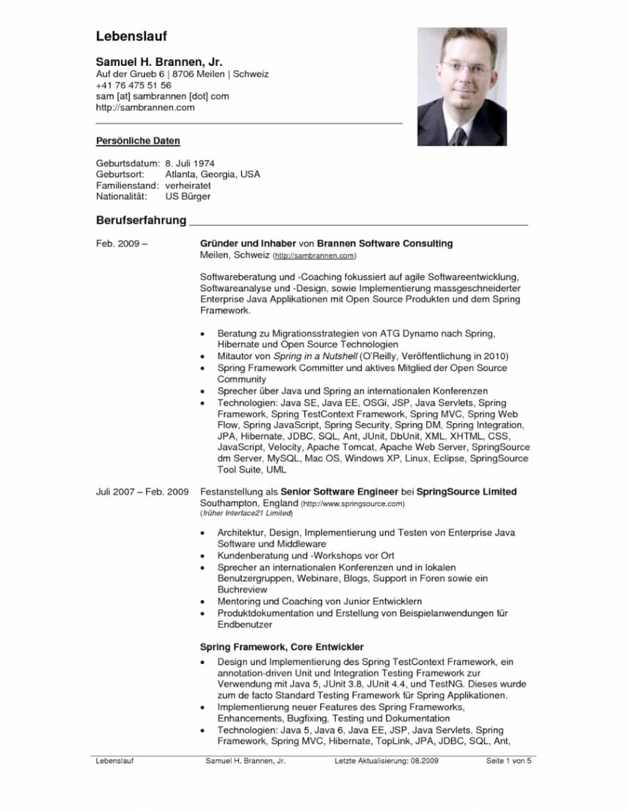 Hervorragend Lebenslauf Für Consulting Lebenslauf Vorlage Lebenslauf Vorlage Consulting