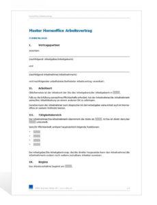 [%Eine Probe%|Porbe|] von15+ Arbeitsvertrag Muster  Wwfchamps Home Office Vereinbarung Vorlage
