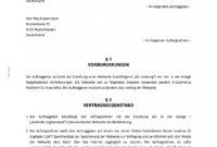 [%Eine Probe%|Porbe|] von15+ Schriftliche Vereinbarung Vorlage  Exeterca Service Level Vereinbarung Vorlage