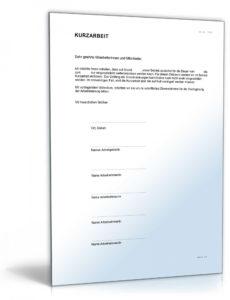 [%Eine Probe%|Porbe|] vonEinverständnis Zur Kurzarbeit  Muster Zum Download Vereinbarung Arbeitnehmer Kurzarbeit Vorlage