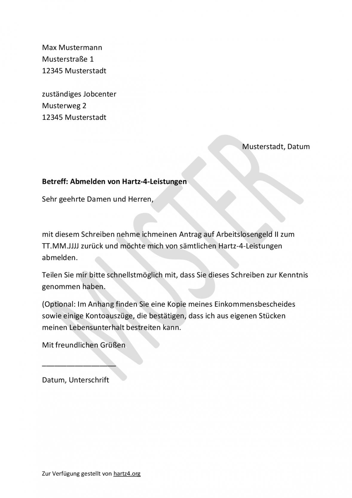 [%Eine Probe% Porbe ] vonHartz4Antrag: Muster Für Alle Belange  Hartz Iv & Alg 2 Vereinbarung Kostenübernahme Führerschein Vorlage