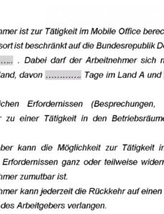 [%Eine Probe%|Porbe|] vonMobile Office  Die Neue Arbeitsform (Teil I)  Hk2 Startup Home Office Vereinbarung Vorlage