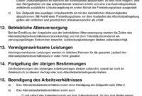 [%Eine Probe%|Porbe|] vonMustervertrag Zur Individuellen Vereinbarung Von Vorlage Vereinbarung Altersteilzeit
