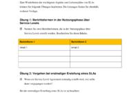 [%Eine Probe%|Porbe|] vonService Level Agreement (Sla)  Managementhandbuch Service Level Vereinbarung Vorlage