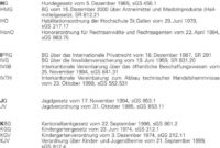 [%Eine Probe%|Porbe|] vonStgallische Gerichts Und Verwaltungspraxis Pdf Kostgeld Vereinbarung Vorlage