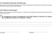 [%Eine Probe%|Porbe|] vonWohnraummietvertrag (Vermieter) (Mieter)  Pdf Free Download Vereinbarung Zur Entlassung Eines Mieters Aus Dem Mietvertrag