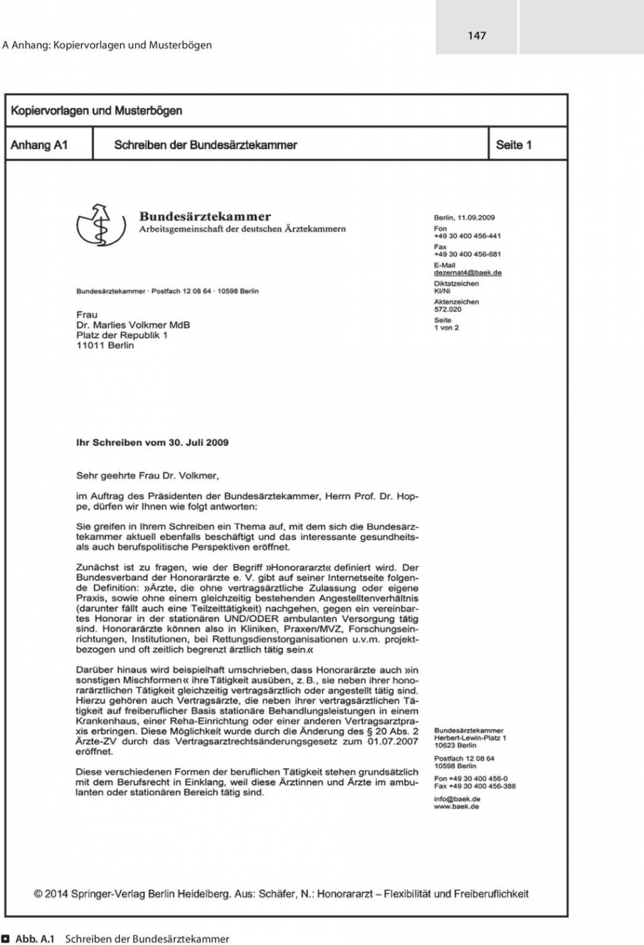 eine probe von a anhang kopiervorlagen und musterbögen  pdf free download honorararzt rechnung vorlage doc