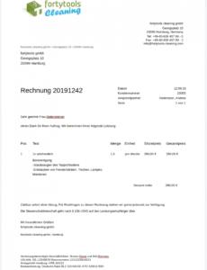 bearbeitbar von vorlage für subunternehmerrechnung und musterrechnung für vorlage rechnung nach § 13b pdf